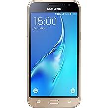 """Samsung Galaxy J3 (2016) - Smartphone libre Android, pantalla 5"""" pulgadas, 8 MP, 1 GB RAM, 8 GB, color dorado"""