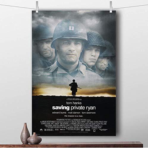taoyuemaoyi Speichern Von Privaten Ryan Wandkunst Gemälde Weltkrieg Ii Film Poster Leinwand Tuch Drucke Für Wohnkultur 40 * 60 cm
