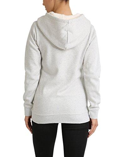 Berydale Bd282, Sweat-Shirt Femme Blanc/Beige