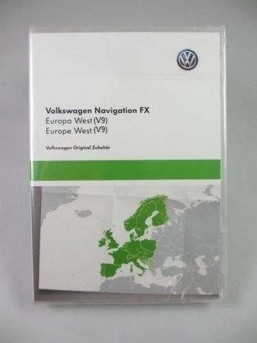 Spate VW RNS 310FX Navigation Karte SD Europa 2017/18V9West Golf Passat Jetta