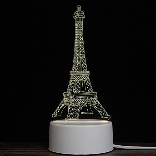520 Usb (Bedolioled regalo luces lámpara de mesa pequeña USB 520 vacaciones 3d luz nocturna regalo creativo, 9)