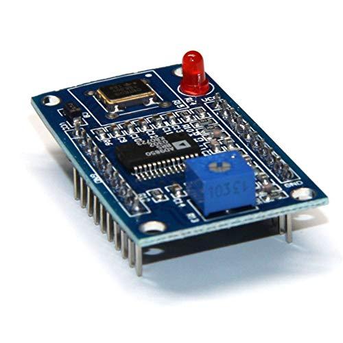 A401 AD9850 Modul DDS Signal Generator Modul 0-40 MHz Test Equipment 2 Sinuswelle Und 2 Rechteckwelle Ausgang für Arduino-blau Audio-video-test-generator