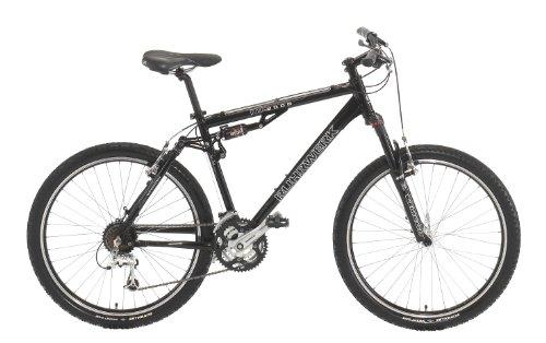 Ruhr di da ciclismo Uomo MTB in alluminio Fully, 4di Link 24marce Shimano Deore LX deragliatore, Tiefschwarz, altezza telaio: 48cm, dimensioni pneumatici: 26