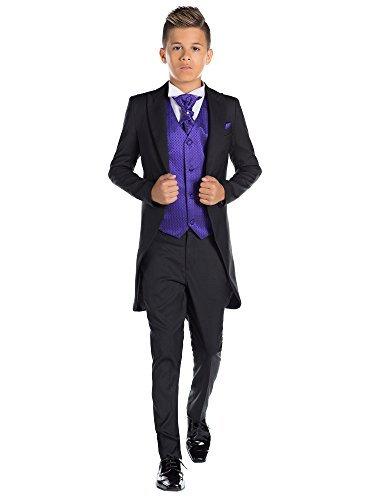 Paisley of London, Jungen Schwarz Kostüm zu Schwanz, -