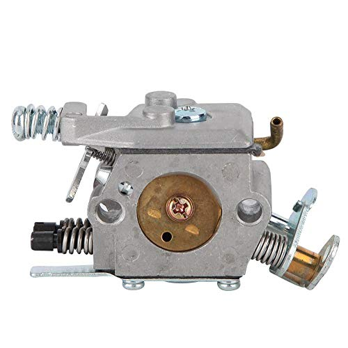 idalinya Vergaser Fit Motoren ohne Choke Motor Vergaser für 136 137 142 Kettensägen Modelle mit Dichtung und O-Ring ohne Choke -