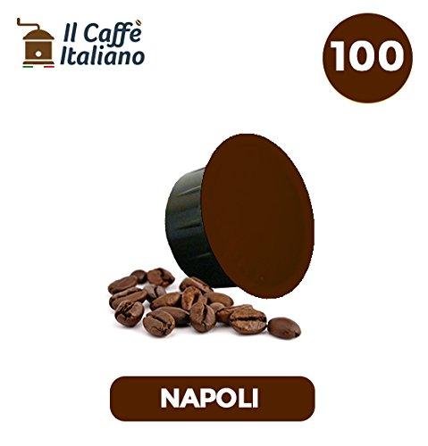 Caffitaly 100 Capsule compatibili - Il Caffè Italiano - Miscela Napoli Intensità 12