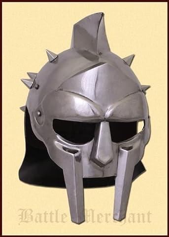 Medieval Gladiator Maximus Helmet Armor Gladiator Movie Helmet Replica