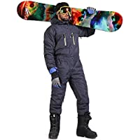 SAENSHING Herren Wasserdicht Schnee Skianzug Winddichter Einteiler Overall Skianzüge