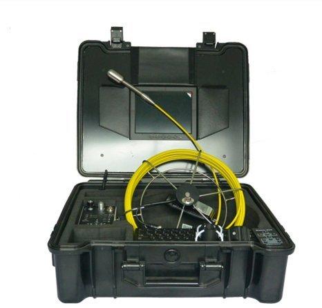 mabelstar 20,3cm Monitor CCTV Überwachung Sicherheit Kamera System Underground Abfluss Rohr Inspektionskamera (30m Kabel) (Sicherheits-monitor-system)