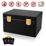 OCOOPA Faraday Box, Signal Blocker Box for Car Keys Fob Phones Cards, Call & RFID Signal Blocking Case Car Key Safe Box, Keyless Cars Security Anti Theft Large Storage Box
