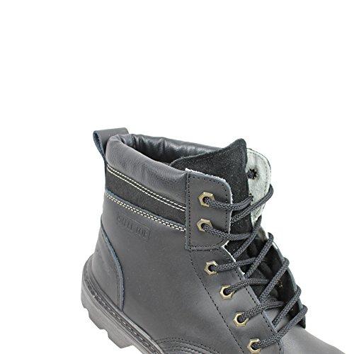 Ergos liverpool businessschuhe chaussures de sécurité noir chaussures de travail s3 (noir) Noir - Noir