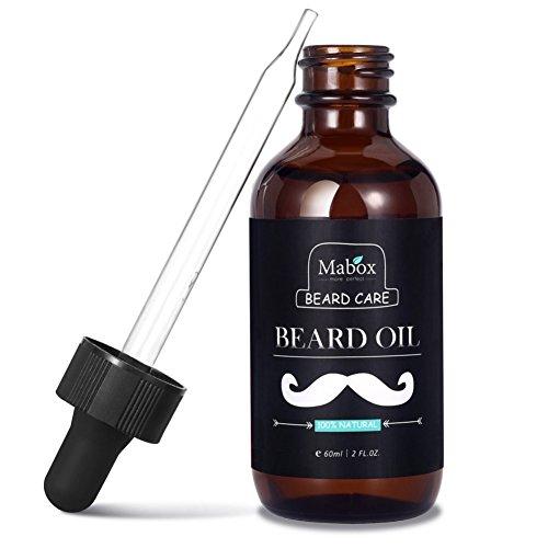 Cocohot Bartöl - Conditioner & Weichmacher für Männer - Alle natürlichen Inhaltsstoffe, hält Bart und Schnurrbart voll, weich und gesund, reduziert juckende und schuppige Haut, fördern gesundes Wachst