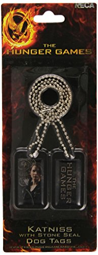 Hunger Katniss Kostüm Games Fire Catching - Feuer fangen und Katniss Stone Seal Dog Tag - Der Hunger Games