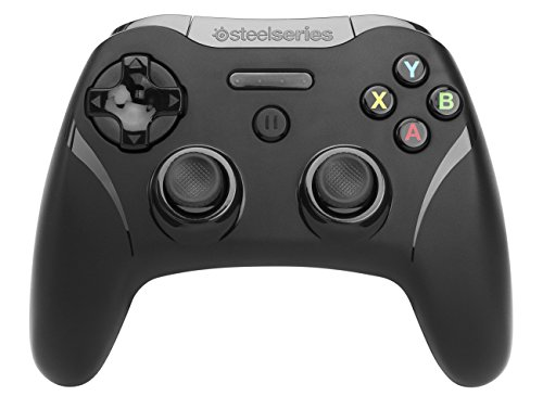 SteelSeries Stratus XL - Controlador de juegos inalámbrico, bluetooth, 14 botones, (IOS / iPad / iPhone / iPod Touch / Mac), color negro