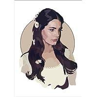 POSTERLOUNGE Póster 30 x 40 cm: Lana del Rey Lust for Life de Anna McKay - Impresión Artística de Alta Calidad, Nuevo Póster Artístico