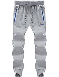 Hombre Pantalones de chándal Pantalones de chándal Nuevo Slim Stretch Deportes Jogging Leisure ...
