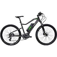 I-Bike MTB Mud Pro6 ITA99, Mountain elettrica Unisex Adulto, Grigio, 50 cm