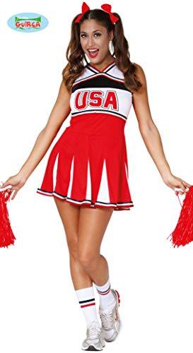 Guirca Cheerleader Kostüm USA für Damen XS / ()