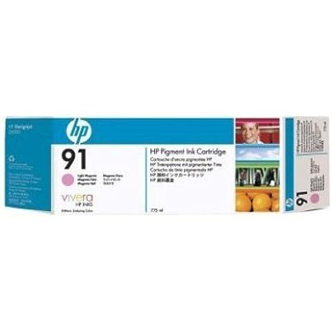 HP C9487A cartucho de tinta - Cartucho de tinta para impresoras (Magenta claro, Pigmento magenta, 775 ml, 20 - 80%, 5 - 40 °C, 15 - 35 °C)