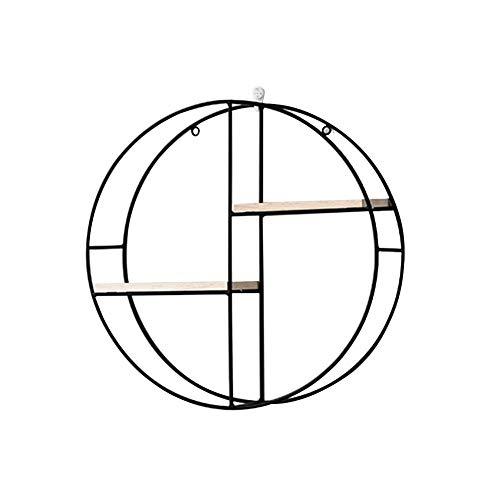 favourall Regal schwarz pflanzenregal Metall, Metall Eisen Wand-Rack Metall standregal schwarz Geeignet für Wohnzimmer, Büro by