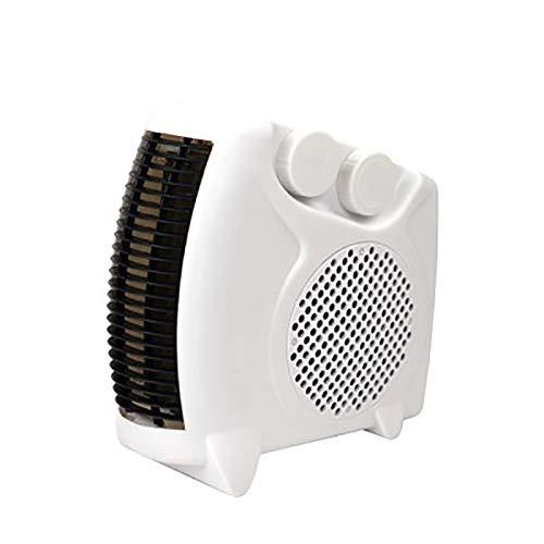 QFHWH Handy Calefactor Ventilador Cálido Portátil Ventilador de Habitación Eléctrico Handy Air...