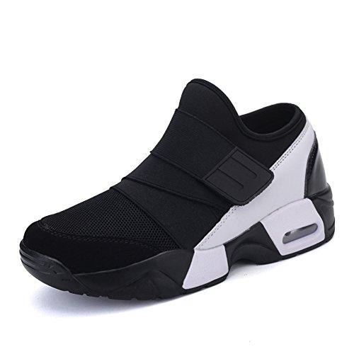 Chaussure de Mulitsport Homme d'air Basket Mode compensé Slip-on Casuel antidérapant