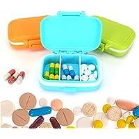 Case mit 3herausnehmbaren Fächern Wasserdicht Kunststoff Medizin Box Pillendose Tablettenbox Organizer einfach... preisvergleich bei billige-tabletten.eu