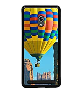 printtech Hot Air Balloon Colored Back Case Cover for Asus Zenfone 6 A600CG