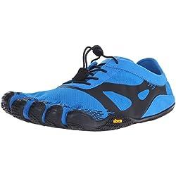 Vibram FiveFingers Kso Evo, Zapatillas de Deporte Exterior, Hombre, Azul (Blue/Black), 44 EU