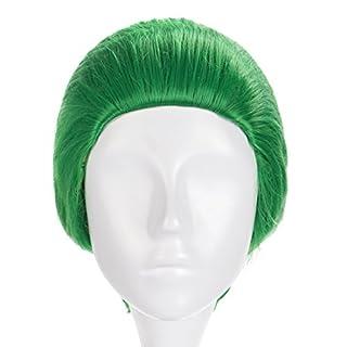 KeySmart Hochwertige Perücke vom Jocker Grün