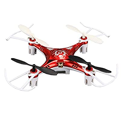 Zeagoo X7 RC Mini RTF Drones 4CH 2.4G Quadcopter with 4 Axis Gyro
