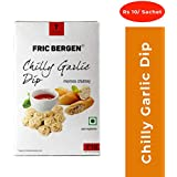 Fric Bergen Chilly Garlic Dip/Sauce-252 Grams (7 Sachet x 36g)