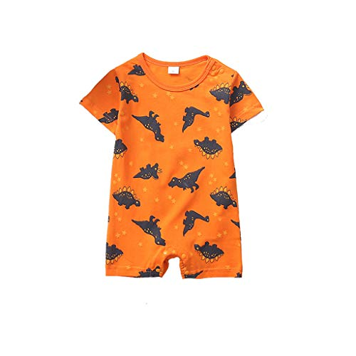Overall Baby Sommer Neugeborene Cartoon Dinosaurier Strampler Overall Outfits Kleidung