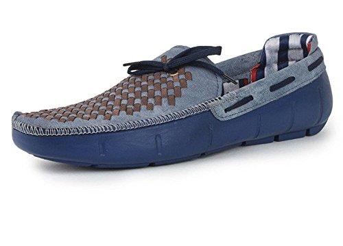 Hot Man Mens' Designer Blue Casual Loafers Size:- 9 UK/IND