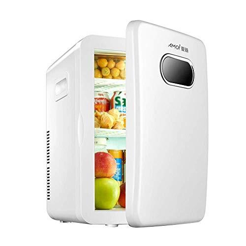 XBXDM - Caja refrigeradora de 12 V para Camping, Nevera fría y Caliente, Compacto, para Coche, Nevera de Doble tensión, Viajar y Acampar
