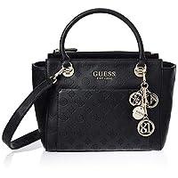 Guess Satchel Bag for Women- Black