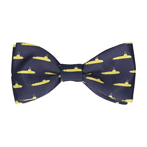 Mrs Bow Tie Quirky Yellow Submarines Fliege, Selbstbinde Fliege