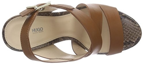 Hugo - Vertic 10187689 01, Sandali Donna Marrone (Braun (pastel brown 231))
