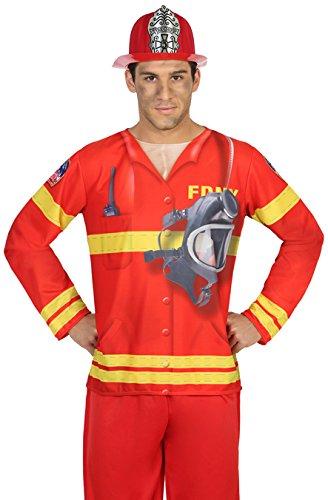 Atosa 29761vigile del fuoco 3d maglietta