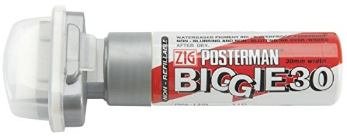 zig-kuretake-posterman-metallic-silver-biggie-30-30mm-nib-tip-liquid-chalk-marker-pens-waterproof-bl