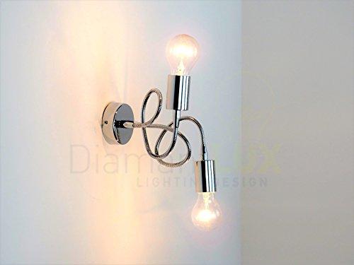 Lampada parete applique flessibile e moderno illuminazione interni