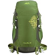 Eshow mochilla 30L Protector de Lluvia Ultraligero Montañismo Senderismo Deportes ocio para viajes.