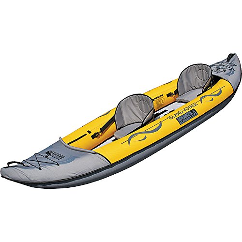 Advanced Elements Island Voyage 2 - Kayak Hinchable, Color Amarillo