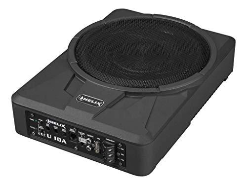 Helix U 10A - 25cm Auto Aktiv Unterbau/Untersitz/Underseat Gehäuse Subwoofer/Basskiste/Bassbox - 360 Watt