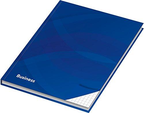 RNK 46499 Geschäftsbücher, Registerbücher, Notizbücher Uws plus Normal Notizbuch A4 Business blau (Hardcover-gebrauchte Bücher)