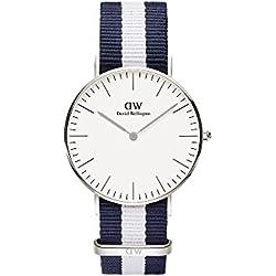Daniel Wellington 0602DW - Reloj de pulsera para Mujer, blanco/multicolor
