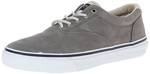 Sperry Topsider Shoes Striper CVO Washable, Grey, Grigio (Grigio (grigio)), 10