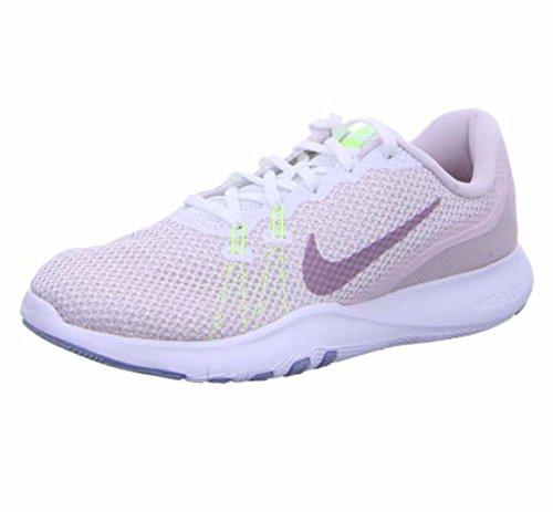 meet bf2c3 1c1fb Nike Damen Trainingsschuh Flex Trainer 7 Fitnessschuhe, Weiß (White Elemental  Rose 104)