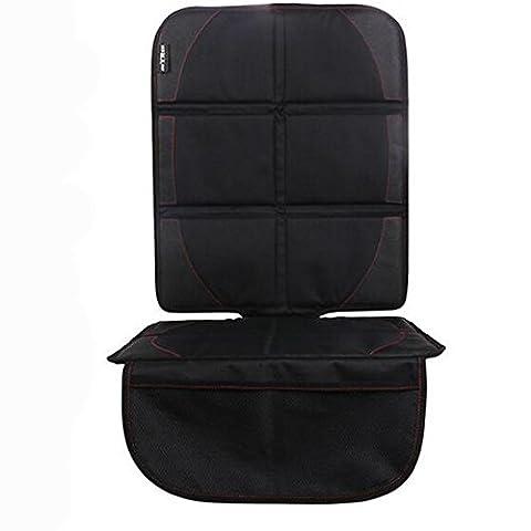 Homeself de protection pour siège auto avec top Sangles pour enfants et bébé sièges de voiture, Tapis pour chien, panneau arrière réglable et poches de rangement