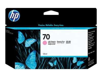 Hewlett Packard-HP 70-Light Magenta-Original-Tintenpatrone-für DesignJet Z2100, Z3100, Z3100ps, Z3200, Z3200ps, Z5200 (70 Designjet Hp)